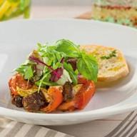 Салат с теплыми овощами Фото