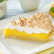 Лимонный тарт с французской меренгой Фото