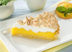 Лимонный тарт с французской меренгой - Фото