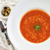 Пряный томатный суп Фото