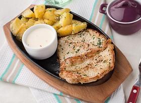 Свинина с картофелем в сметане - Фото