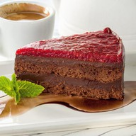 Шоколадно-малиновый Фото