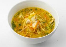 Суп-лапша по-тамански - Фото