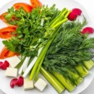 Овощи по-кавказки Фото