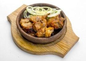 Шашлык из свинины шейки - Фото