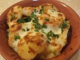 Картофель запеченный с сыром - Фото