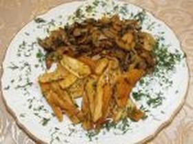Картофель запеченный под сыром - Фото