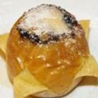 Яблоко запеченное с карамелью Фото