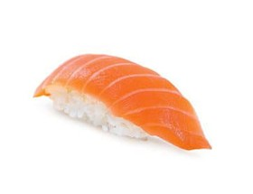 Нигири с копченым лососем - Фото