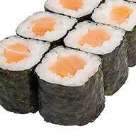 Маки с копченым лососем Фото