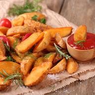 Картофель на углях Фото
