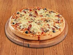 Пицца Ветчина с грибами - Фото