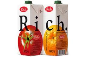Сок Rich в ассортименте - Фото