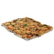 Японская пицца с лососем Фото