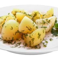 Картофель отварной Фото