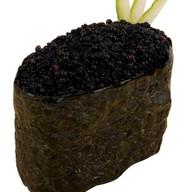 Классические суши тобико черная Фото