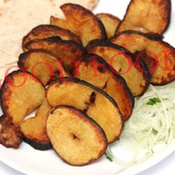 Картошка со свиным салом Фото