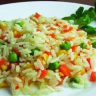 Карибская смесь с рисом Фото
