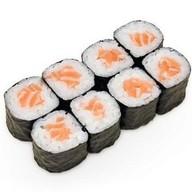 Классический ролл с лососем Фото