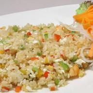 Рис с морепродуктами в устричном соусе Фото