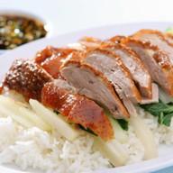 Рис с уткой по-пекински Фото
