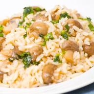 Рис с грибами Фото
