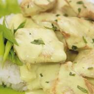 Курица по-тайски с карри и рисом Фото