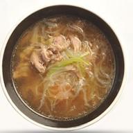 Суп утиный с пельменями Фото