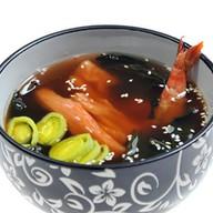 Суимоно суп c морепродуктами Фото