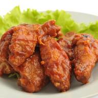 Куриные крылышки в соусе барбекью Фото