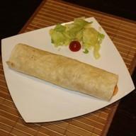 Буррито с овощами Фото