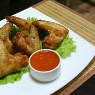 Крылья куриные с острым соусом Фото