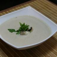 Крем-суп с белыми грибами Фото