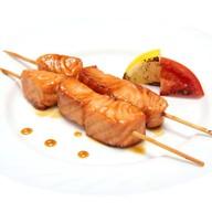 Шашлычок с лососем Фото
