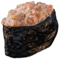 Гункан острый с креветкой Фото