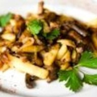 Картофель, жаренный с грибочками Фото