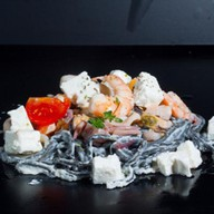 Кидзами с морепродуктами Фото