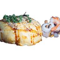 Запеченный рис с морепродуктами Фото