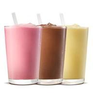 Молочный шейк ванильный Фото