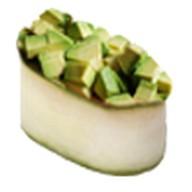 Суши каппа авокадо Фото