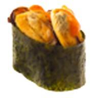 Суши мидии опаленные Фото
