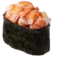 Суши острая креветка Фото