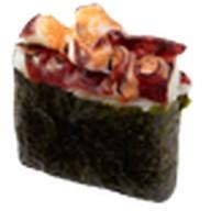 Суши осьминог опаленный Фото