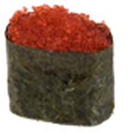 Суши тобико красная Фото