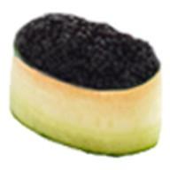 Суши каппа тобико блэк Фото