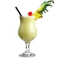 Молочный коктейль ананасовый Фото