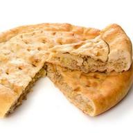 Пирог с капустой и мясом Фото