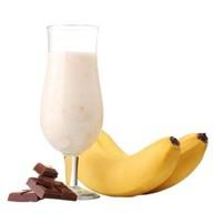 Шоколадно-банановый коктейль Фото