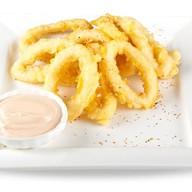 Кольца кальмаров в кляре Фото