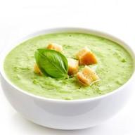 Суп-пюре с брокколи (ланч) Фото